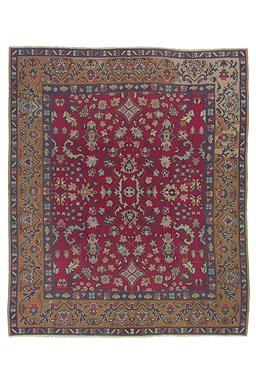 Sale 9090C - Lot 18 - Turkish Vintage Bassarabian Kilim, 245x295cm, Handspun Wool