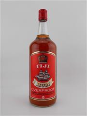 Sale 8454W - Lot 80 - 1x Fiji Overproof Rum - 58% ABV, 1125ml