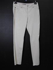 Sale 8514H - Lot 93 - Gerry Weber Beige Cotton Pants - UK size 10