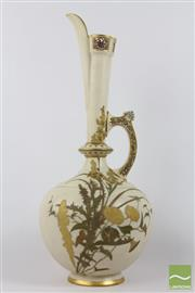 Sale 8516 - Lot 94 - Royal Worcester Ewer