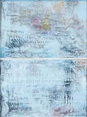 Sale 8526 - Lot 573 - Bruno Leti (1941 - ) - Blue Mist, 2007 60 x 44cm