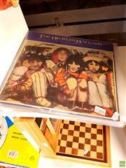 Sale 8582 - Lot 2386 - 4 Beatles LPs