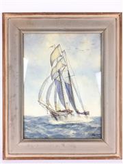 Sale 8607R - Lot 71 - H. Macintosh - Watercolour (39.5 x 29.5cm)