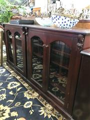 Sale 8822 - Lot 1562 - Pair of Mahogany Dwarf Bookcases