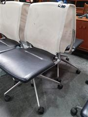 Sale 8839 - Lot 1063 - Pair of Mesh Back Desk Chairs by Vitara