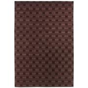 Sale 8913H - Lot 17 - Indian Geo Tonal Design Carpet, 200x300cm, Handspun Wool.