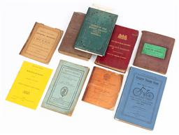 Sale 9130E - Lot 59 - A collection of vintage handbooks including Infantry regiment rules of sergeants mess advice to prisoners sentenced to transporta...