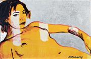 Sale 8301A - Lot 72 - David Bromley (1960 - ) - Agnieshka 60.5 x 91cm