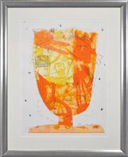 Sale 8286 - Lot 513 - David Larwill (1956 - 2011) - Hot Head, 2005 78 x 59cm