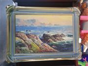 Sale 8582 - Lot 2115A - Artist Unknown, Coastal Scene, Oil,