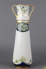 Sale 8775 - Lot 89 - An Early Moorcroft Twin Handle Vase
