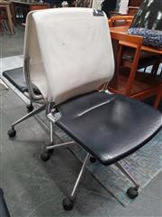 Sale 8839 - Lot 1064 - Pair of Mesh Back Desk Chairs by Vitra