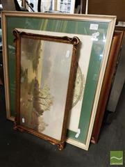 Sale 8491 - Lot 2079 - Group of (5) of Assorted Decorative Prints (framed and various sizes)