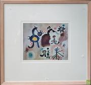 Sale 8604 - Lot 2009 - Joan Miro ( 77 x 89.5cm ) Print