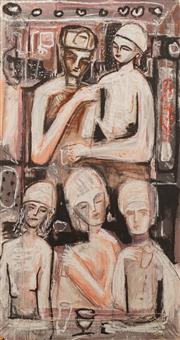 Sale 8652A - Lot 5071 - Carlos Barrios (1966 - ) - Untitled, 1996 161 x 85cm
