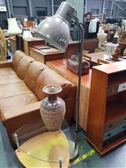 Sale 8672 - Lot 1023 - Modern Industrial Style Floor Lamp