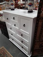 Sale 8676 - Lot 1073 - Modern Chest of Eight Drawers