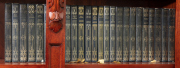 Sale 8795A - Lot 47 - A collection of 25 volumes by Alistair Maclean in blue leather bindings