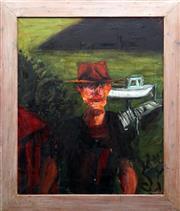Sale 8847A - Lot 5069 - Carol Marando (1961- ) - Spencer Boatman 1995 101.5 x 83.5cm