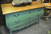 Sale 8386 - Lot 1038 - Rustic Three Drawer Chest