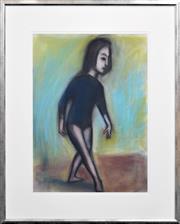 Sale 8408 - Lot 553 - Robert Dickerson (1905 - 2015) - The Dress Rehearsal 75 x 54cm