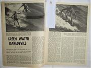Sale 8431B - Lot 51 - Story, Green Water Dare Devils. Four page article in Sport Magazine January 1962