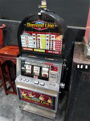 Sale 8826 - Lot 1003 - Vintage Poker Machine