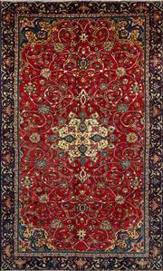 Sale 8338C - Lot 7 - Persian Kashan 198cm x 325cm