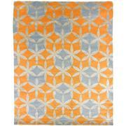 Sale 8870C - Lot 33 - Nepal Deco Kaleidascope Design Carpet in Tibetan Highland Wool & Chinese Silk, 308x249cm