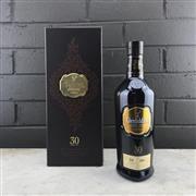 Sale 9017W - Lot 50 - Glenfiddich 30YO Single Malt Scotch Whisky - batch no. 00044, bottle no. 5120, 43% ABV, 700ml in leather box