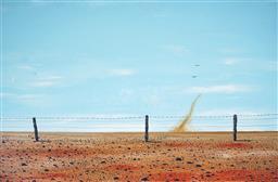 Sale 9099A - Lot 5043 - Doug Frith (1962 - ) - No Rain Yet, 2019 58.5 x 89 cm (frame: 65 x 96 x 2 cm)