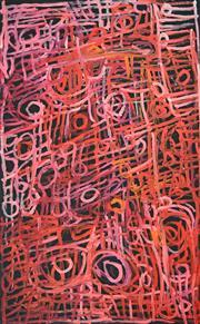 Sale 8321 - Lot 586 - Charmaine Pwerle (1975 - ) - Awelye, 2016 148 x 90cm
