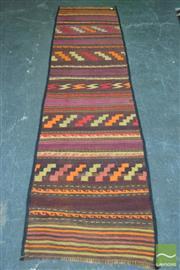 Sale 8412 - Lot 1063 - Persian Kilim Runner (284 x 68cm)
