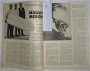 Sale 8431B - Lot 53 - Article, called Mighty Midget (Midget Farrelly), two pages in Sport Magazine March 1963