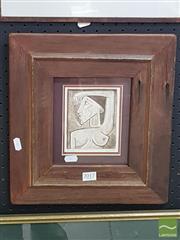Sale 8552 - Lot 2017 - Nigel Gillings - Sentinel 12 x 9.5cm