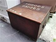 Sale 8580 - Lot 1020 - Chemistry Storage Box