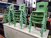 Sale 8589 - Lot 1080 - Set of Fourteen Kids Chairs