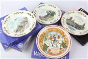 Sale 8604W - Lot 22 - Wedgwood Christmas Plates (6-Dia:21cm)