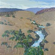 Sale 8755 - Lot 593 - Alex Butler - Ravine Vista, 1989 100 x 100cm