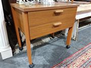 Sale 8760 - Lot 1092 - Horne Sewing Table
