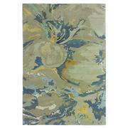 Sale 8870C - Lot 34 - Nepal Organic Washed Design Rug in Tibetan Highland Wool & Chinese Silk, 230x160cm