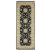 Sale 8913H - Lot 22 - Afghan Fine Hezari Rug, 213x81cm, Handspun Ghazni Wool