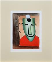 Sale 8301A - Lot 96 - Kevin Charles (Pro) Hart (1928 - 2006) - Smiling Miner 20 x 15cm