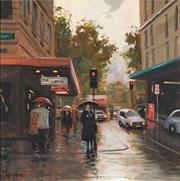 Sale 8565 - Lot 528 - Doris Kaminski - City Reflections 44 x 44.5cm
