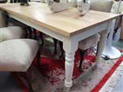 Sale 8672 - Lot 1058 - Rustic Kitchen Table