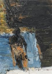 Sale 8708A - Lot 532 - Euan MacLeod (1956 - ) - Bondi Steps, 1992 46 x 32cm