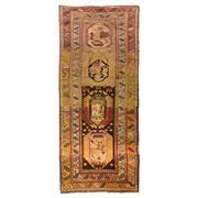 Sale 8870C - Lot 35 - Antique Caucasian Runner, Handspun Wool 320x135cm