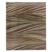 Sale 8913H - Lot 23 - India Mid-Century Inspired Swirl Design Carpet, 295x245cm, Handspun Wool