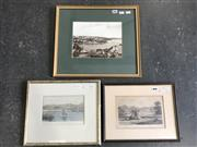 Sale 8964 - Lot 2031 - After Julian Rossi Ashton Woolongong, From the Light hand-coloured engraving together with an Antique English Engraving & Reproduc...