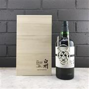 Sale 9062W - Lot 616 - The Hakushu Distillery 25YO Single Malt Japanese Whisky - 43% ABV, limited edition 700ml bottle in timber presetation box with slip...